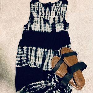 Long Tie Dye Maxi Dress